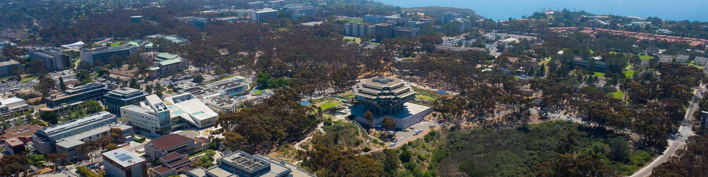 aerial photo of UC San Diego